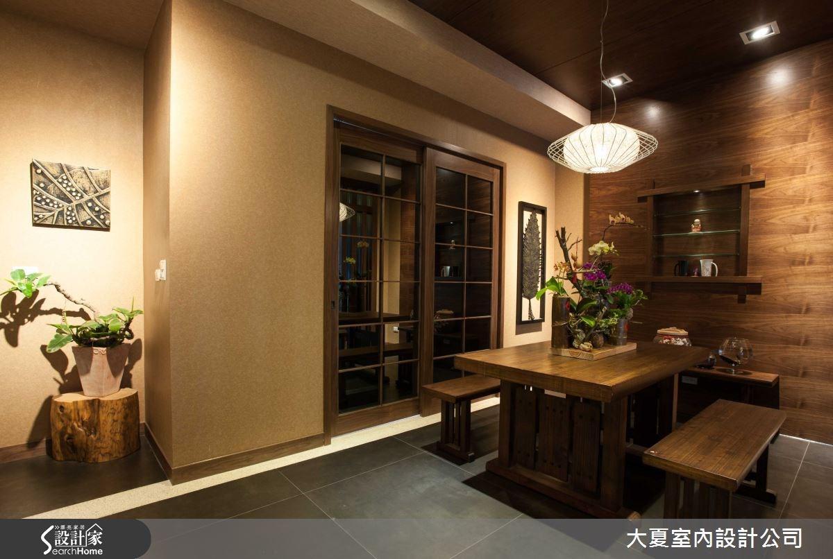 74坪新成屋(5年以下)_人文禪風餐廳案例圖片_大夏室內設計公司_大夏_13之6
