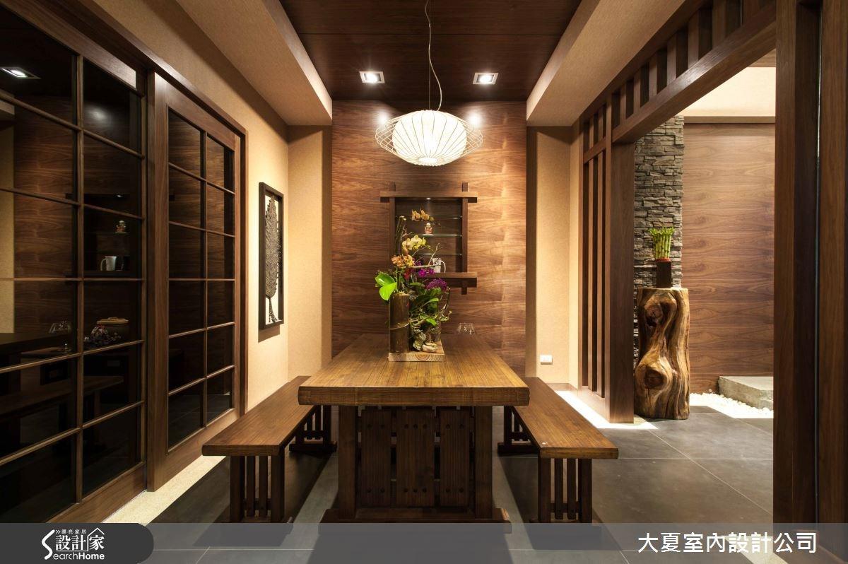 74坪新成屋(5年以下)_人文禪風餐廳案例圖片_大夏室內設計公司_大夏_13之7
