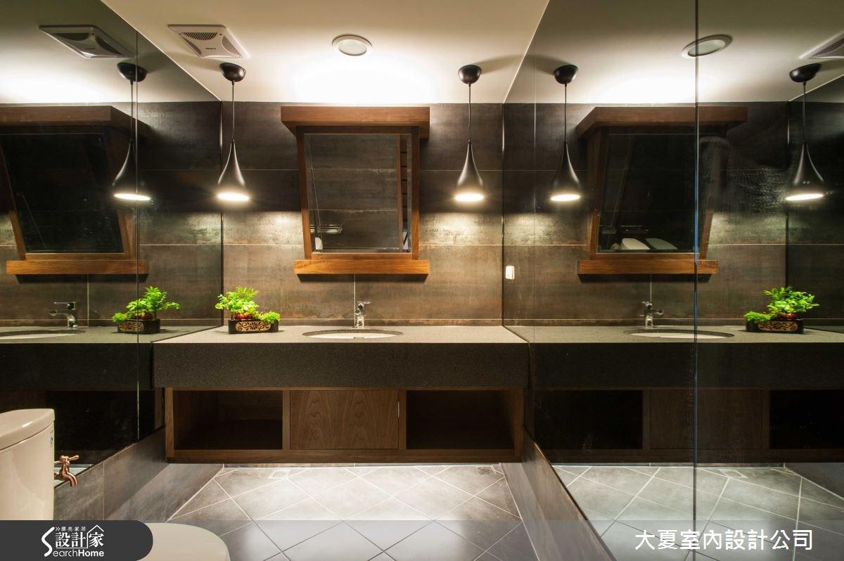 74坪新成屋(5年以下)_人文禪風浴室案例圖片_大夏室內設計公司_大夏_13之9
