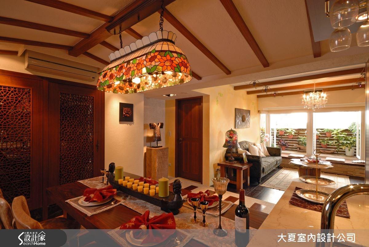 42坪老屋(16~30年)_鄉村風餐廳案例圖片_大夏室內設計公司_大夏_18之7