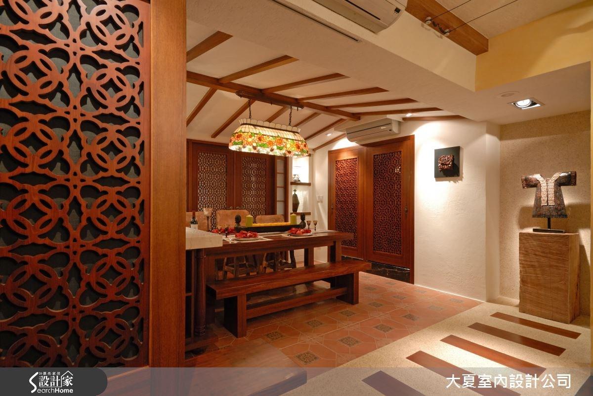 42坪老屋(16~30年)_鄉村風餐廳案例圖片_大夏室內設計公司_大夏_18之8