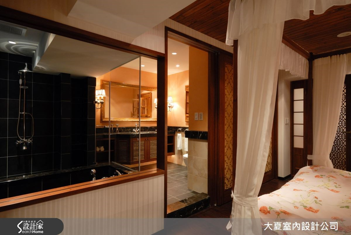 42坪老屋(16~30年)_鄉村風臥室浴室案例圖片_大夏室內設計公司_大夏_18之11