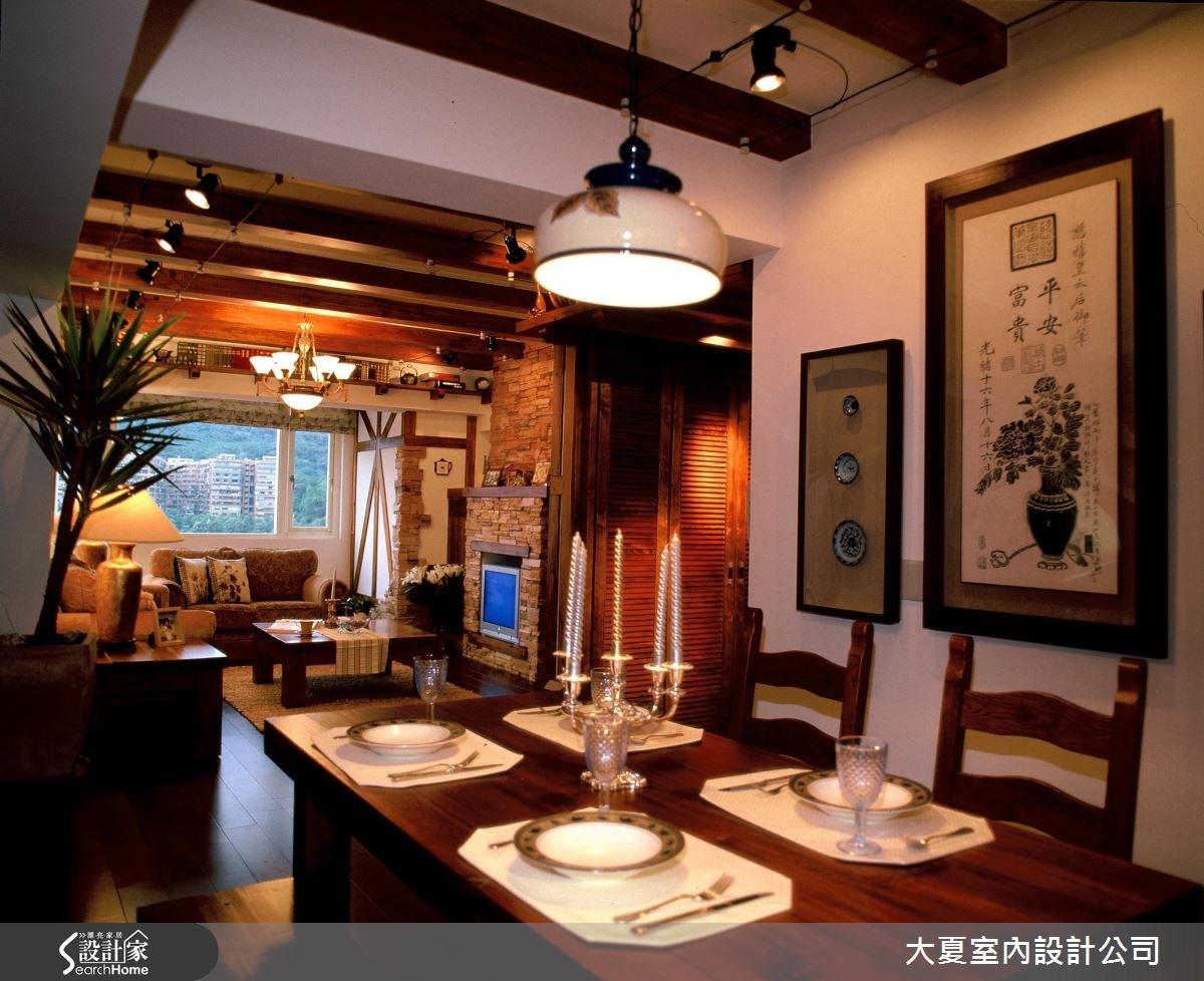48坪老屋(16~30年)_鄉村風案例圖片_大夏室內設計公司_大夏_21之5