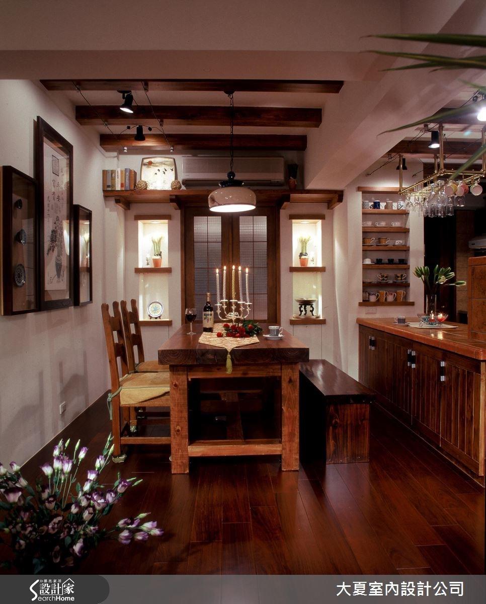 48坪老屋(16~30年)_鄉村風餐廳案例圖片_大夏室內設計公司_大夏_21之8