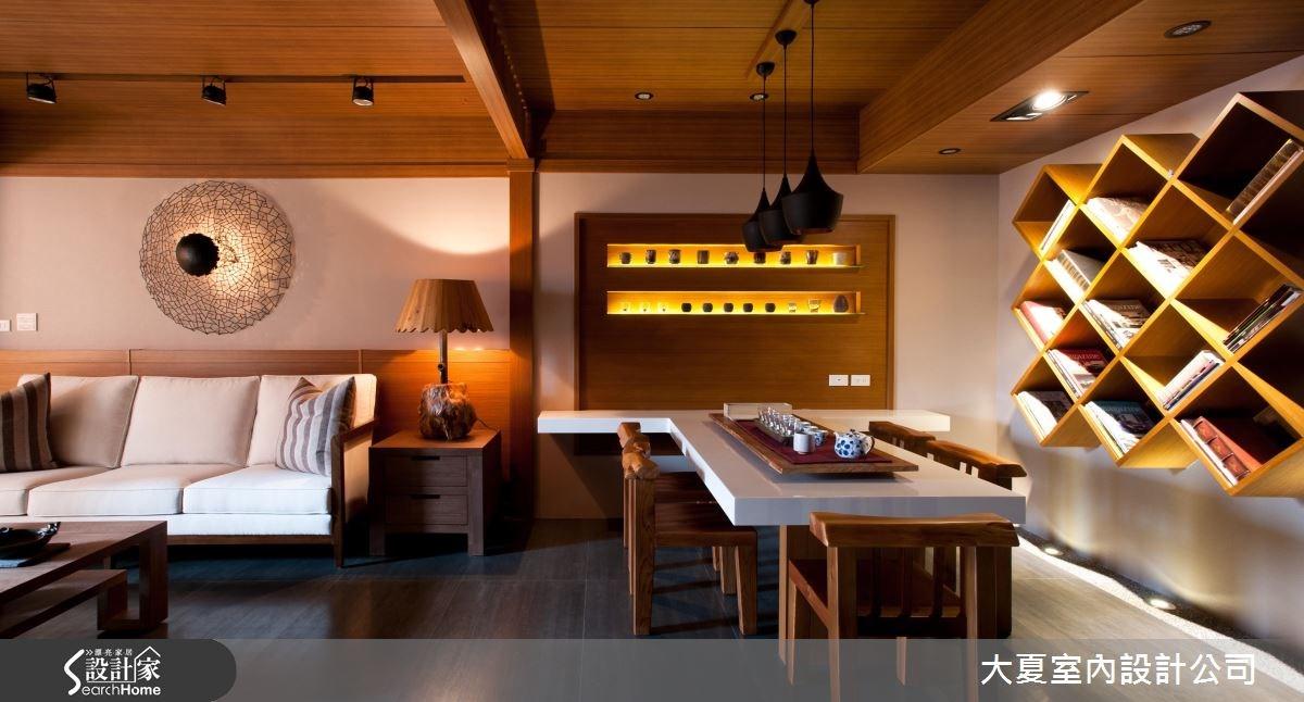 39坪中古屋(5~15年)_人文禪風客廳餐廳案例圖片_大夏室內設計公司_大夏_22之8