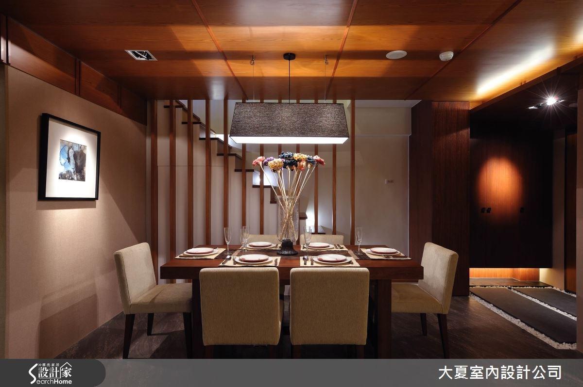 47坪中古屋(5~15年)_人文禪風餐廳樓梯案例圖片_大夏室內設計公司_大夏_25之4