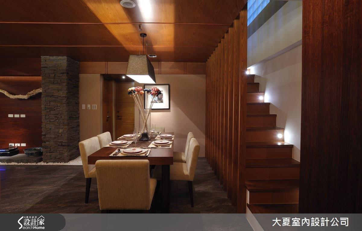 47坪中古屋(5~15年)_人文禪風餐廳樓梯案例圖片_大夏室內設計公司_大夏_25之5