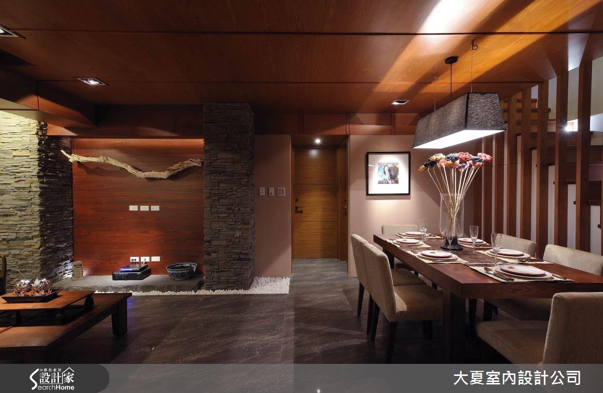 47坪中古屋(5~15年)_人文禪風餐廳樓梯案例圖片_大夏室內設計公司_大夏_25之6