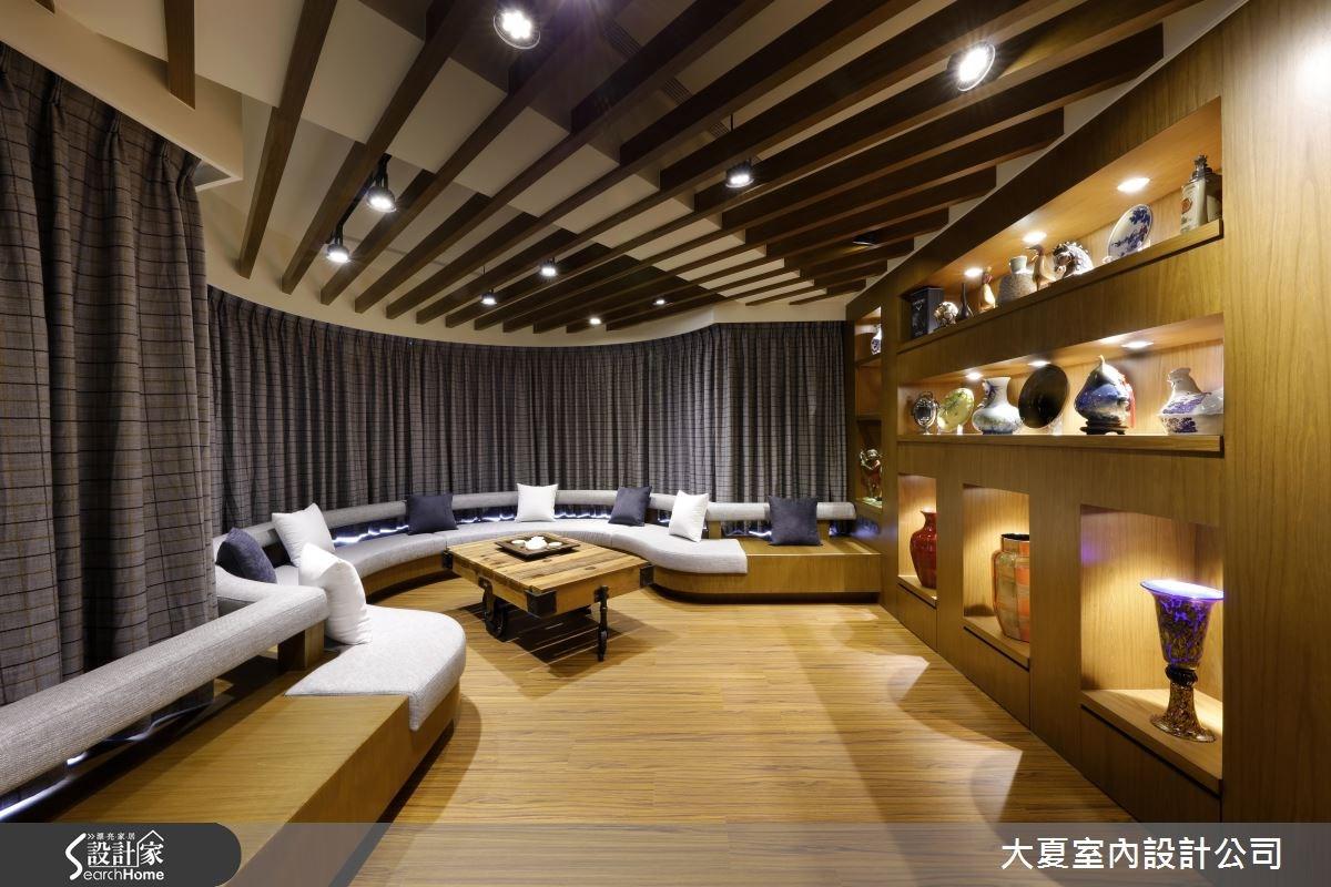 90坪新成屋(5年以下)_人文禪風客廳案例圖片_大夏室內設計公司_大夏_30之2