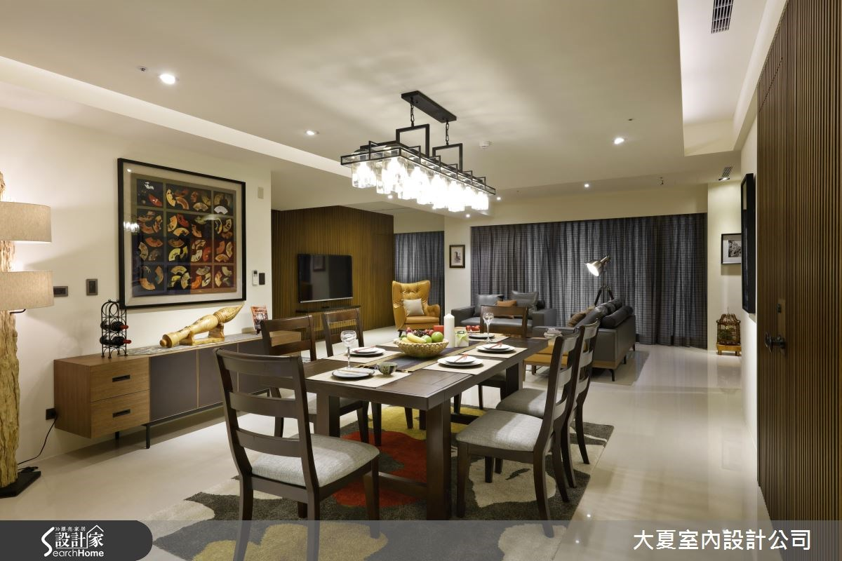 90坪新成屋(5年以下)_人文禪風餐廳案例圖片_大夏室內設計公司_大夏_30之7