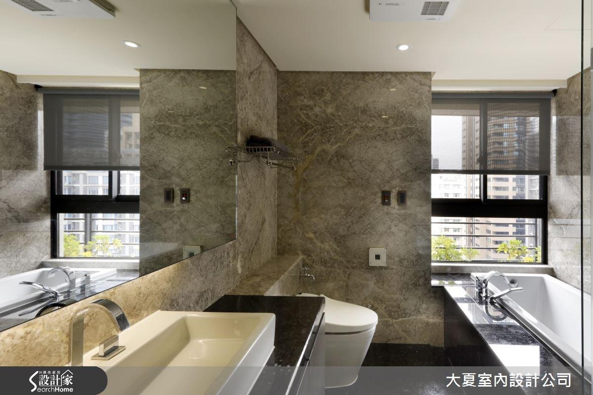 90坪新成屋(5年以下)_人文禪風浴室案例圖片_大夏室內設計公司_大夏_30之8
