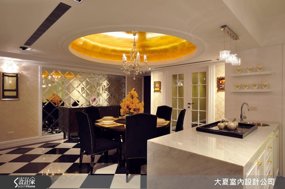 46坪中古屋(5~15年)_新古典廚房案例圖片_大夏室內設計公司_大夏_32之2