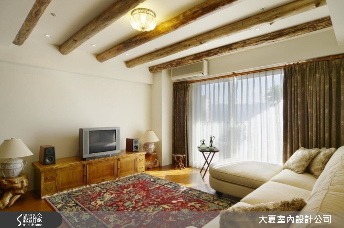 32坪新成屋(5年以下)_鄉村風案例圖片_大夏室內設計公司_大夏_36之3