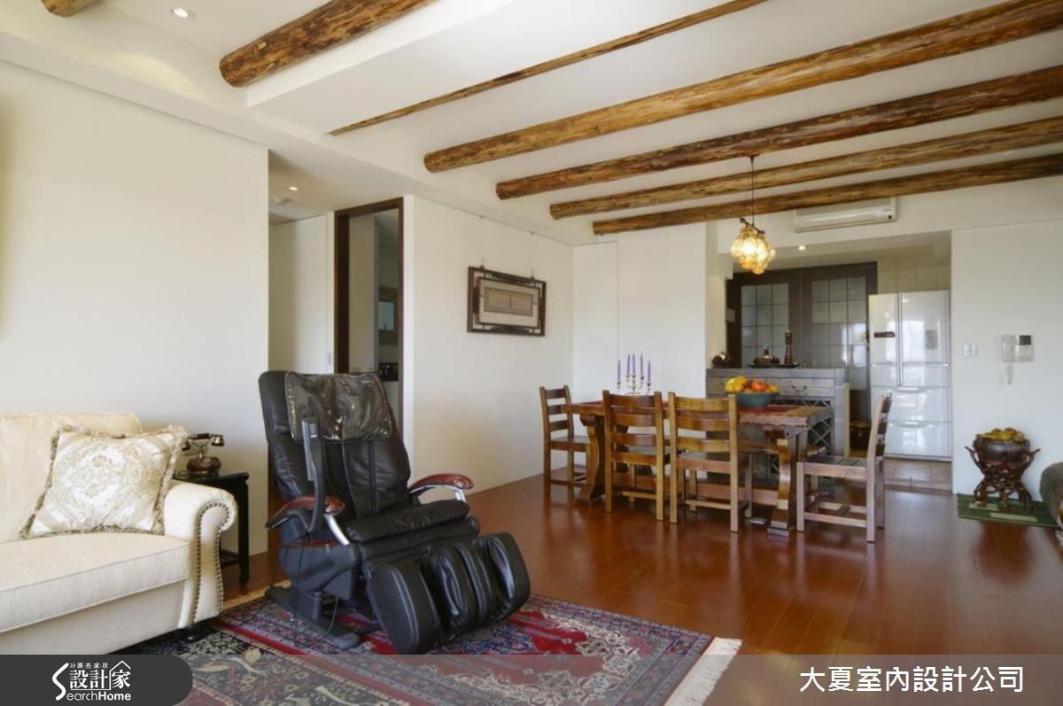 32坪新成屋(5年以下)_鄉村風案例圖片_大夏室內設計公司_大夏_36之6