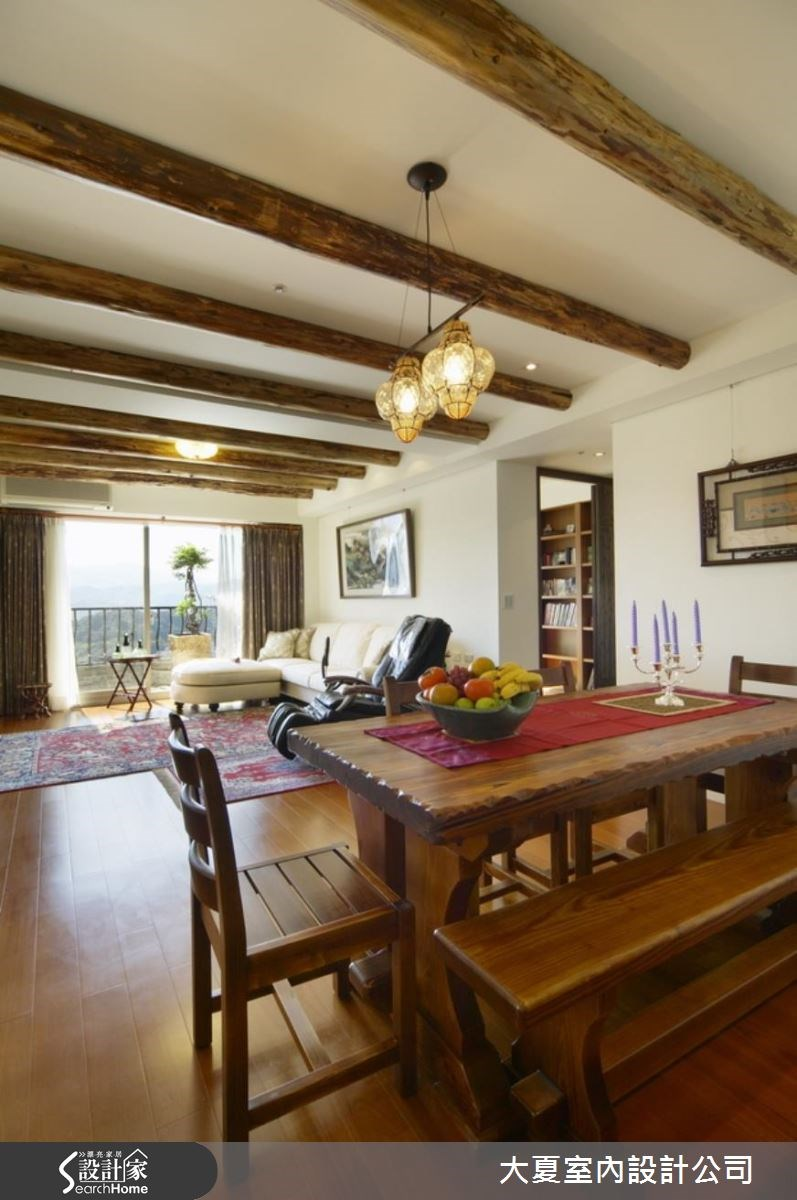 32坪新成屋(5年以下)_鄉村風案例圖片_大夏室內設計公司_大夏_36之8
