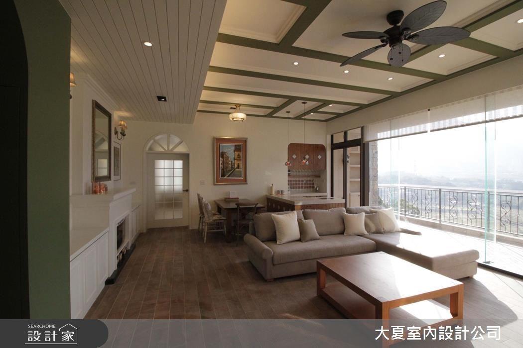 60坪新成屋(5年以下)_鄉村風客廳餐廳案例圖片_大夏室內設計公司_大夏_43之4