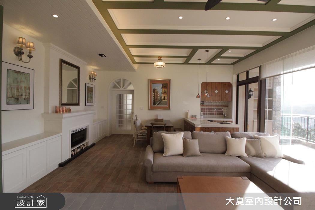60坪新成屋(5年以下)_鄉村風客廳餐廳案例圖片_大夏室內設計公司_大夏_43之5