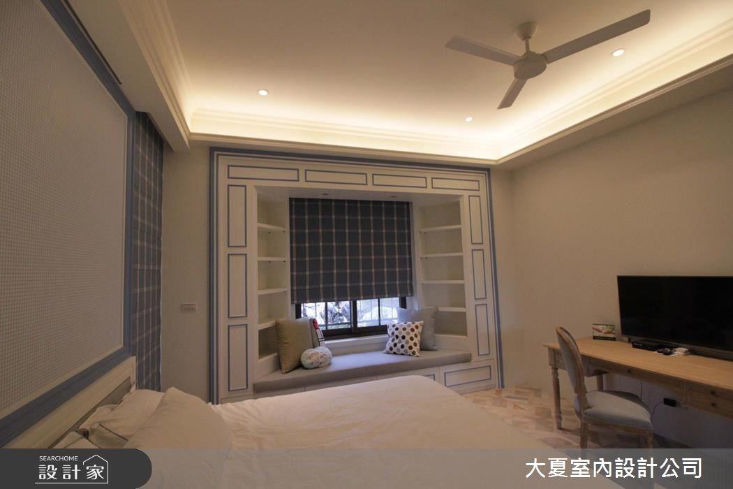 60坪新成屋(5年以下)_鄉村風臥室案例圖片_大夏室內設計公司_大夏_43之13