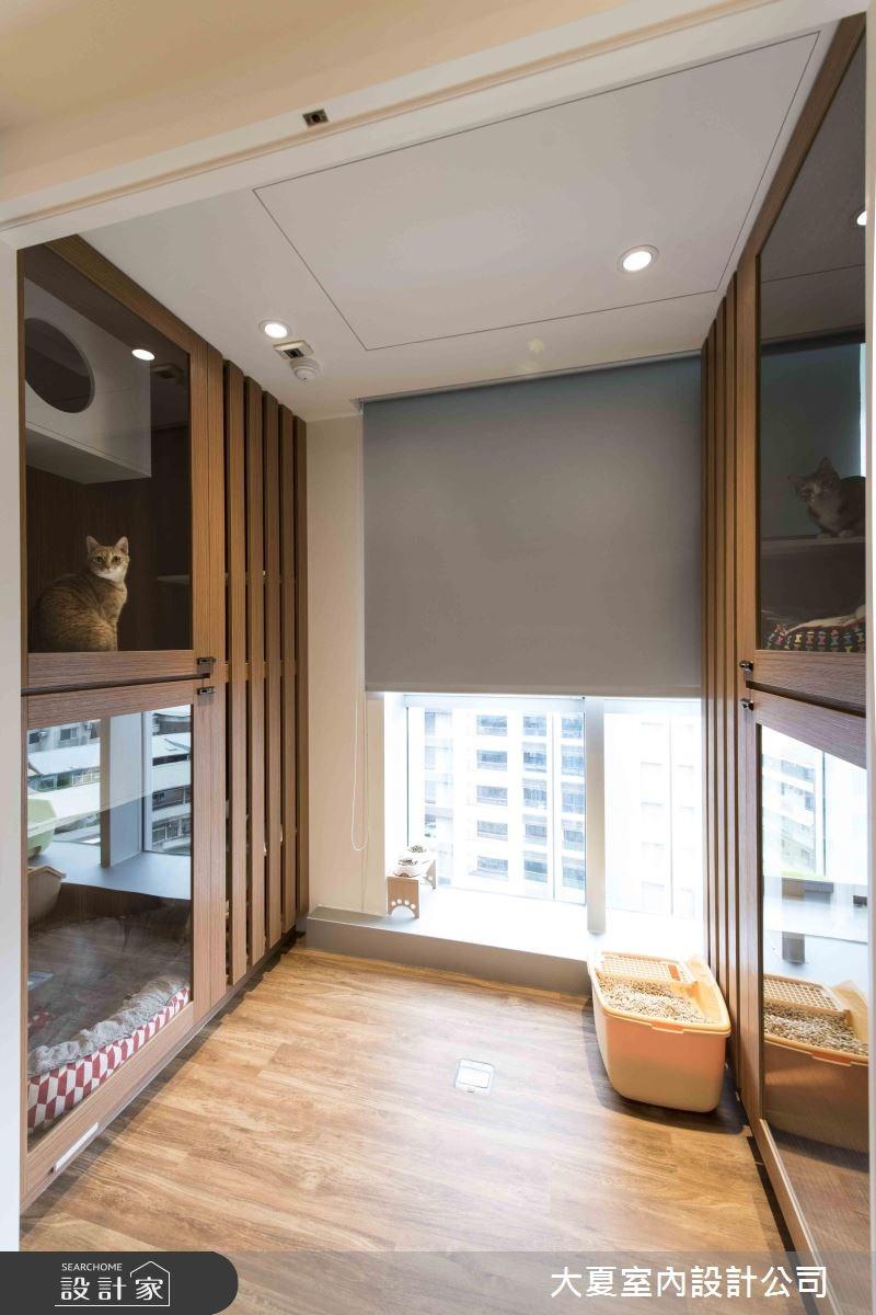 47坪新成屋(5年以下)_鄉村風寵物案例圖片_大夏室內設計公司_大夏_47之10