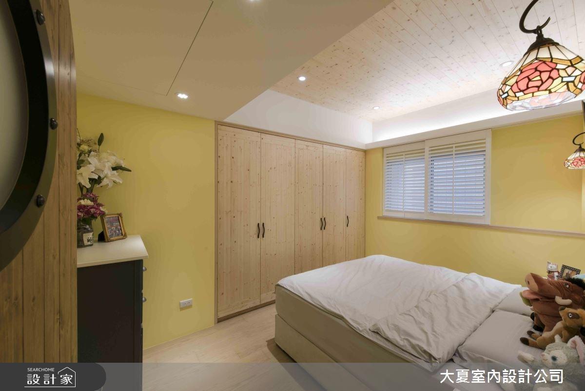 47坪新成屋(5年以下)_鄉村風臥室案例圖片_大夏室內設計公司_大夏_47之13