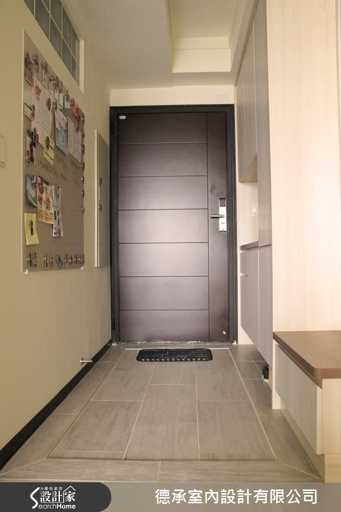 20坪新成屋(5年以下)_北歐風玄關案例圖片_德承室內設計有限公司_德承_03之1
