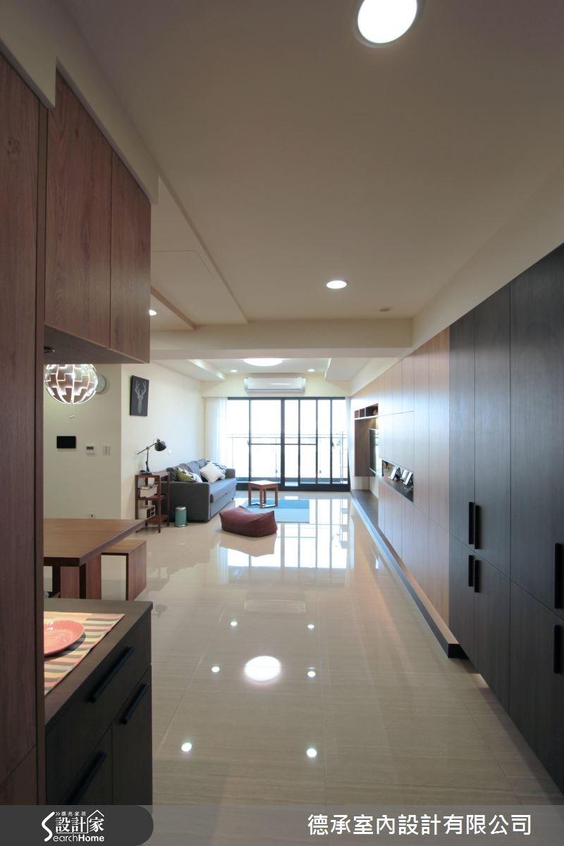 34坪新成屋(5年以下)_北歐風玄關案例圖片_德承室內設計有限公司_德承_06之1