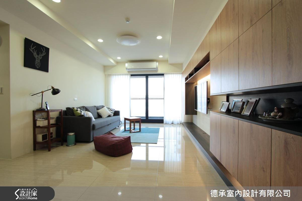 34坪新成屋(5年以下)_北歐風客廳案例圖片_德承室內設計有限公司_德承_06之6