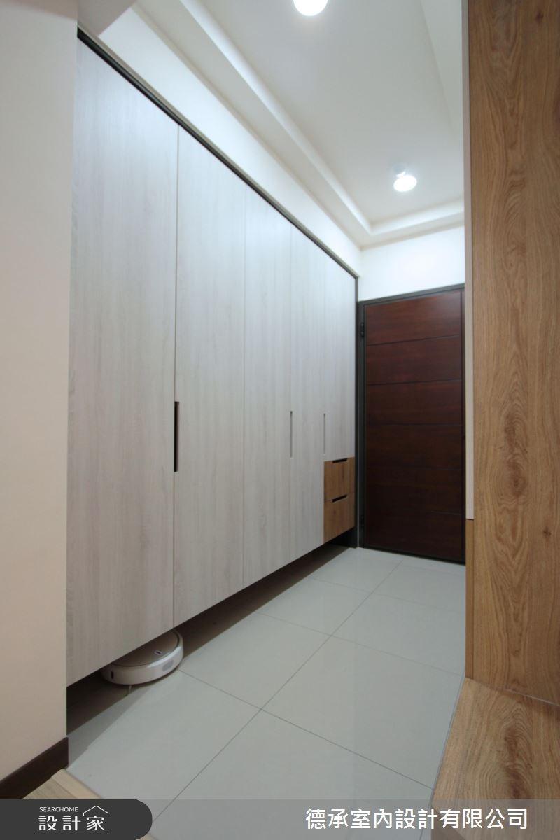 20坪新成屋(5年以下)_北歐風玄關案例圖片_德承室內設計有限公司_德承_09之3