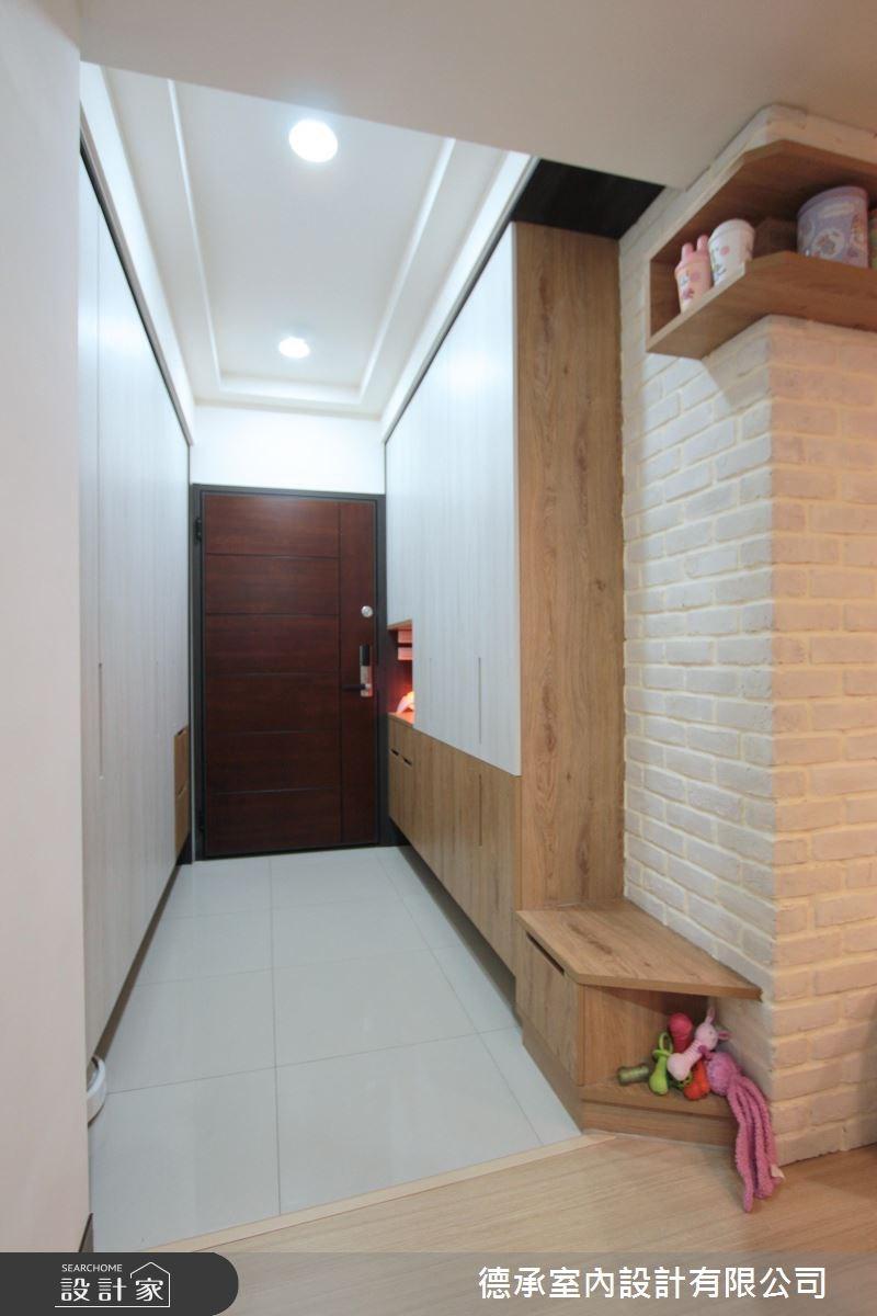 20坪新成屋(5年以下)_北歐風玄關案例圖片_德承室內設計有限公司_德承_09之4