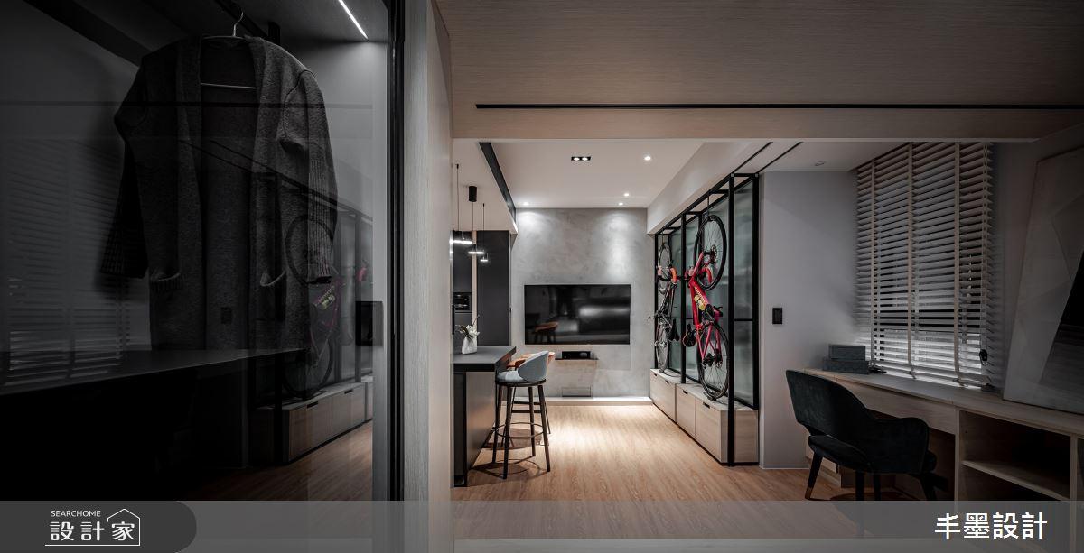 8坪新成屋(5年以下)_現代風案例圖片_丰墨設計_丰墨_21之14