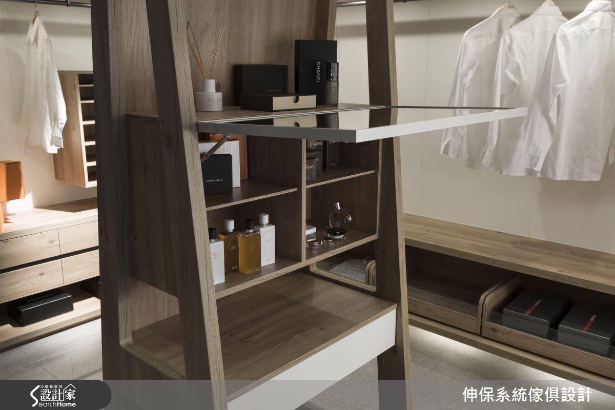 100坪預售屋_混搭風更衣間案例圖片_伸保系統傢俱設計_伸保_01之17