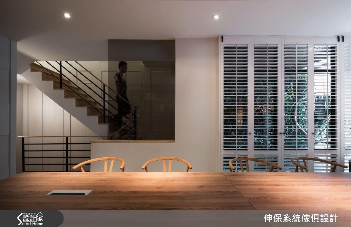 100坪新成屋(5年以下)_混搭風商業空間案例圖片_伸保系統傢俱設計_伸保_02之3