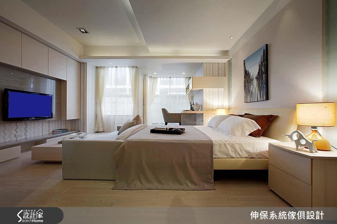 17坪預售屋_北歐風客廳臥室案例圖片_伸保系統傢俱設計_伸保_05之8