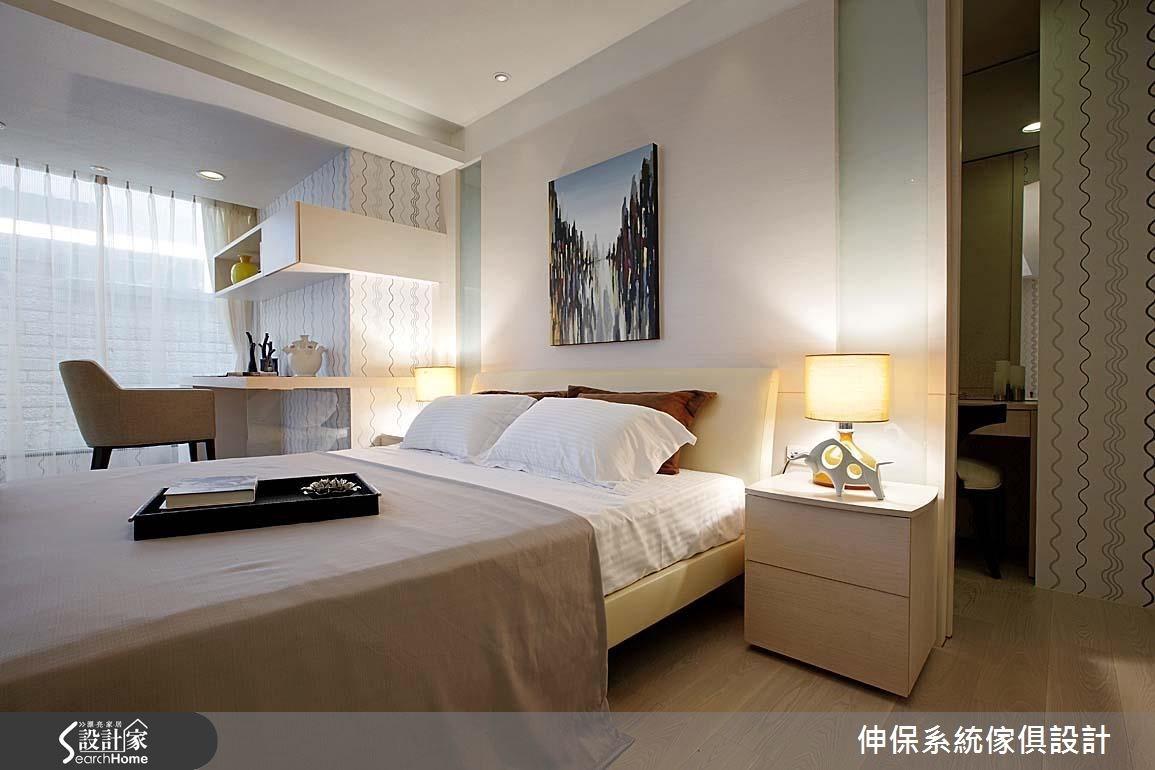17坪預售屋_北歐風臥室案例圖片_伸保系統傢俱設計_伸保_05之9