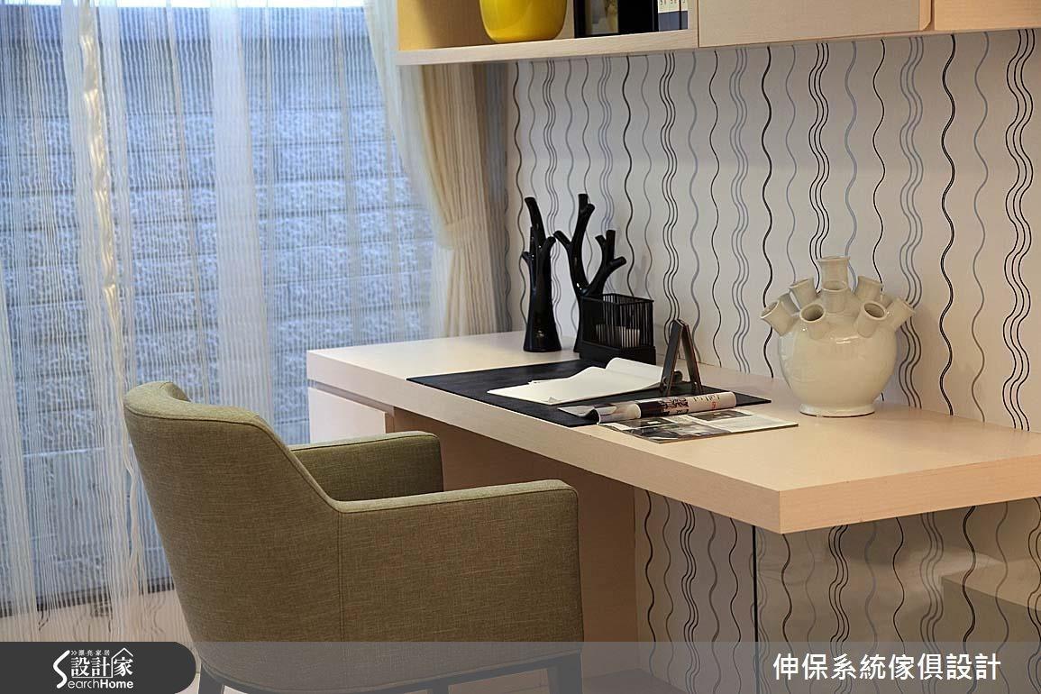17坪預售屋_北歐風書房案例圖片_伸保系統傢俱設計_伸保_05之11