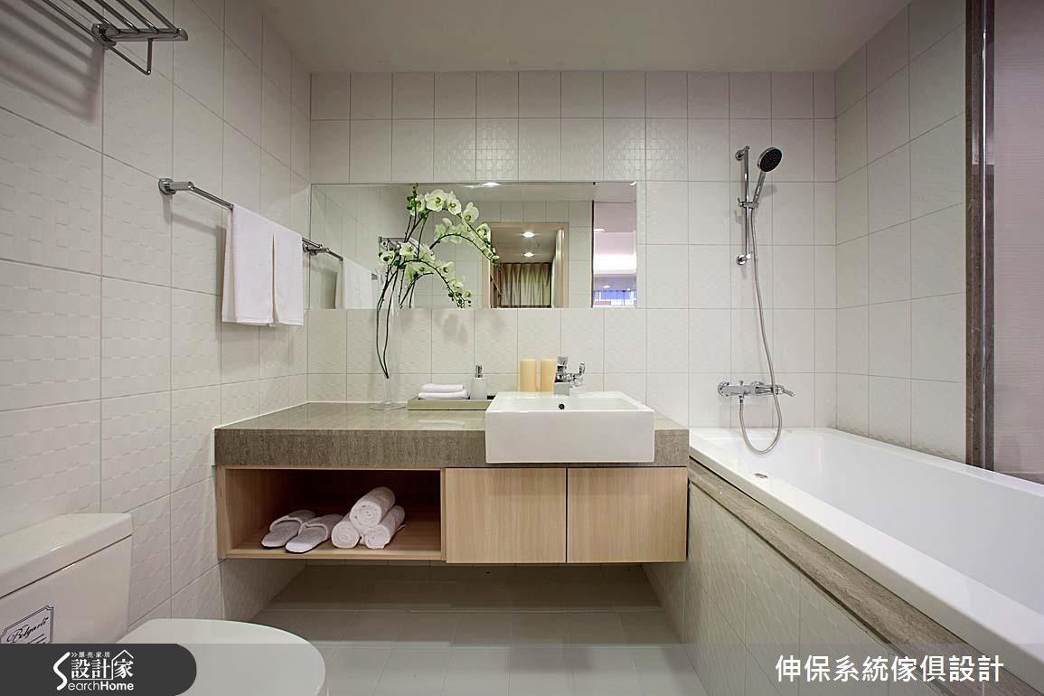 17坪預售屋_北歐風浴室案例圖片_伸保系統傢俱設計_伸保_05之14