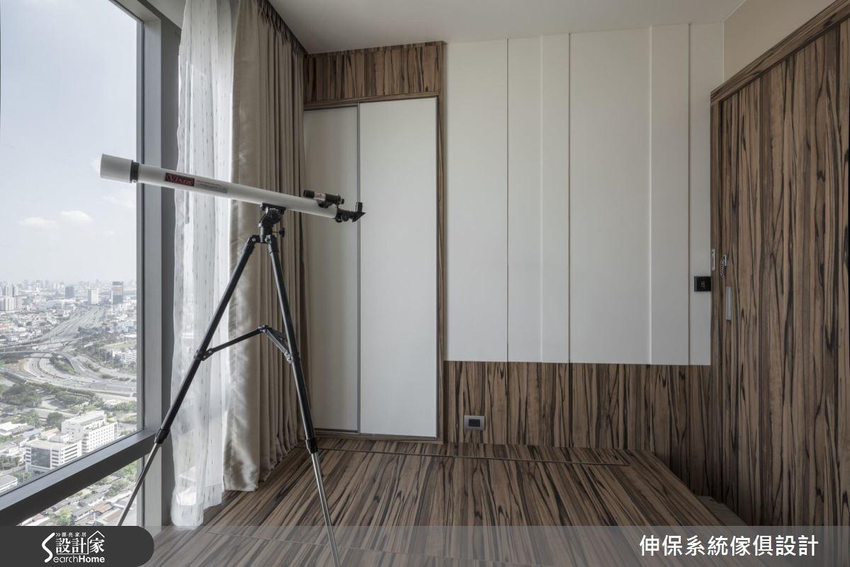 40坪新成屋(5年以下)_混搭風書房案例圖片_伸保系統傢俱設計_伸保_12之5