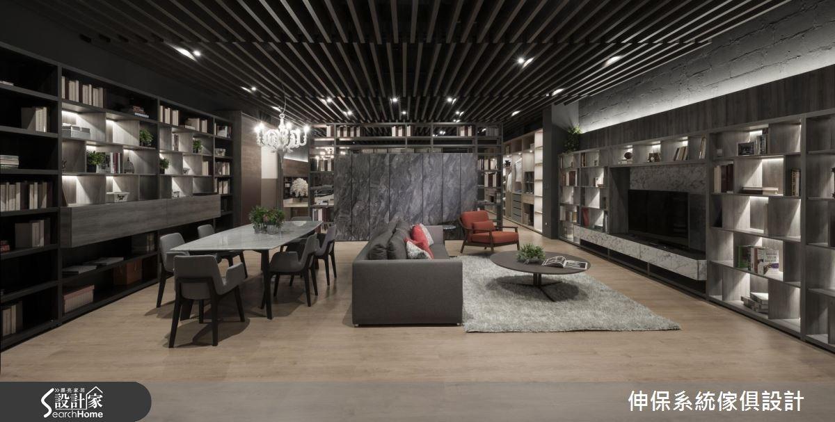 100坪_混搭風商業空間案例圖片_伸保系統傢俱設計_伸保_13之3