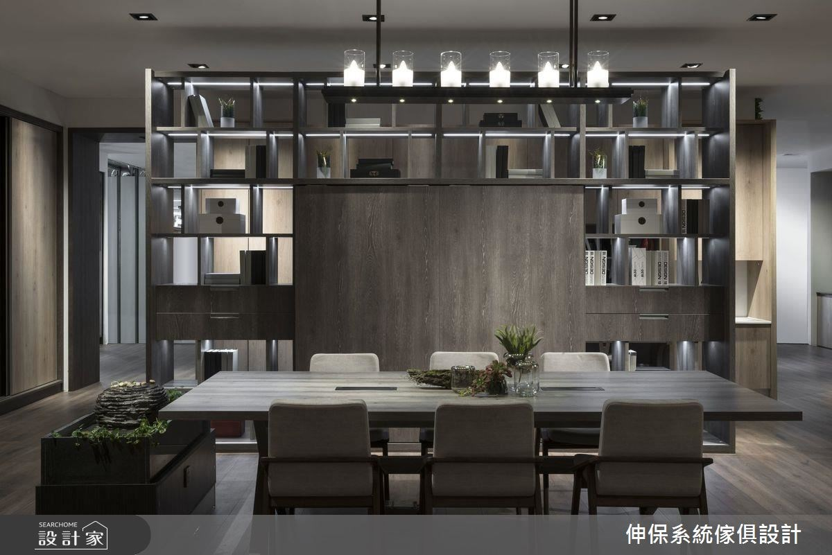 100坪_混搭風商業空間案例圖片_伸保系統傢俱設計_伸保_17之5