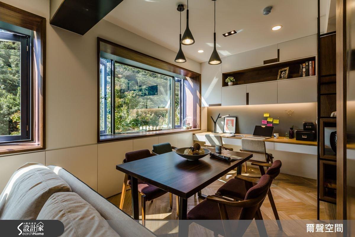 25坪老屋(16~30年)_現代風餐廳案例圖片_爾聲空間設計_爾聲_04之4