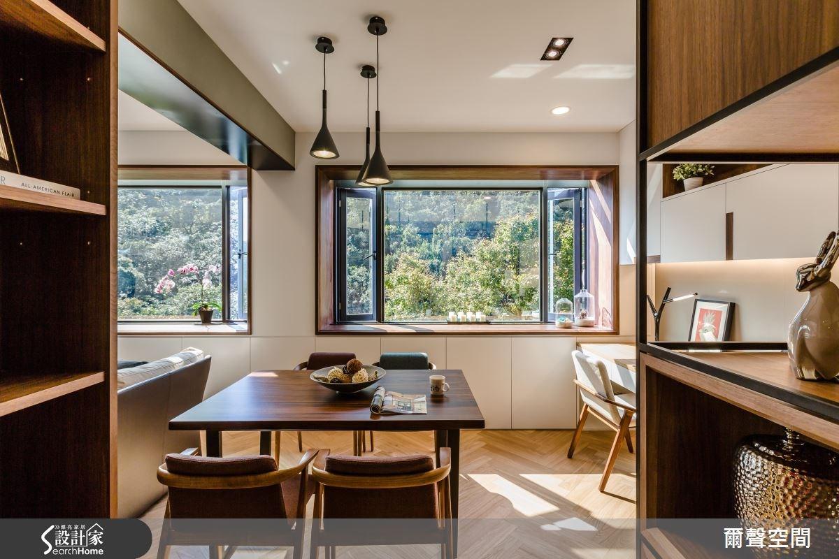 25坪老屋(16~30年)_現代風餐廳案例圖片_爾聲空間設計_爾聲_04之5