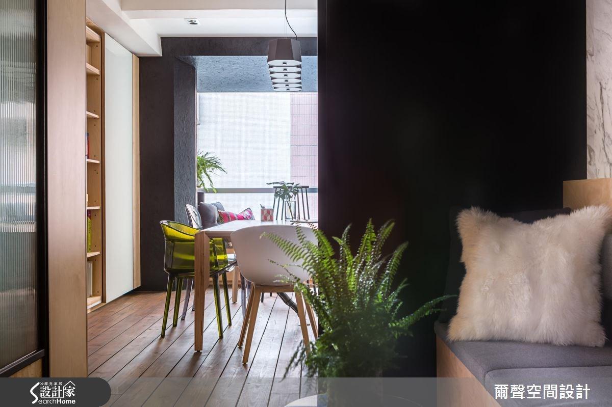 16坪老屋(16~30年)_北歐風商業空間案例圖片_爾聲空間設計_爾聲_永康街辦公室之3