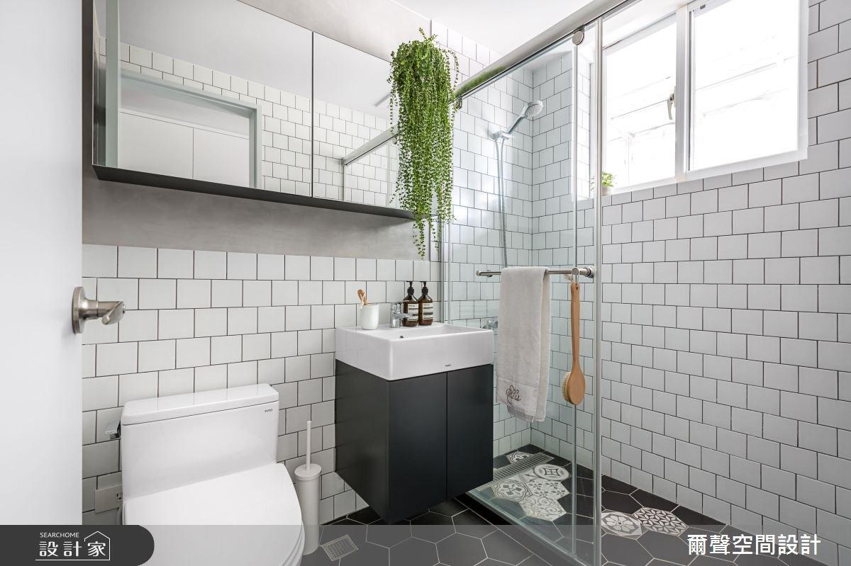23坪老屋(16~30年)_北歐風浴室案例圖片_爾聲空間設計_爾聲_Project N4 北歐經典之20