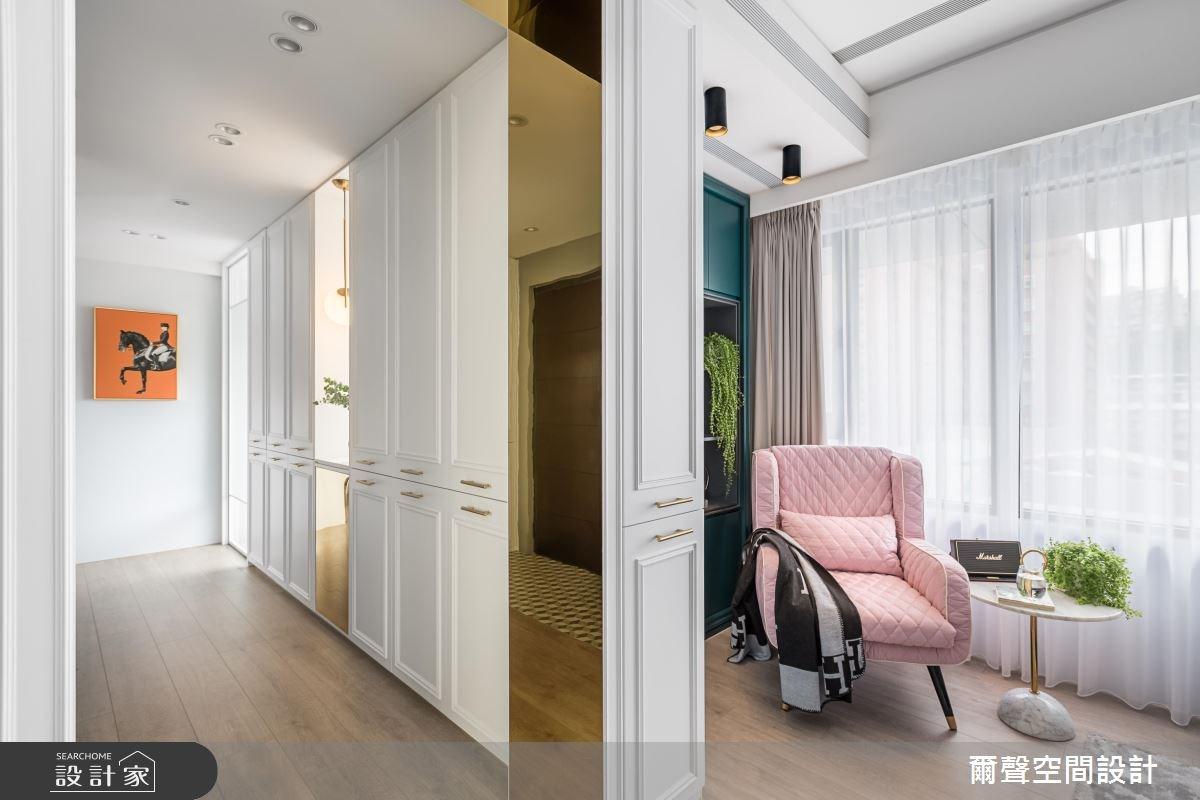 32坪新成屋(5年以下)_混搭風案例圖片_爾聲空間設計_爾聲_The Emerald Chic之9