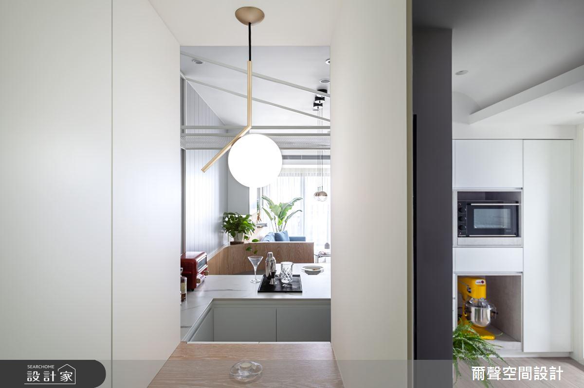 新成屋(5年以下)_北歐風吧檯案例圖片_爾聲空間設計_爾聲_MARCHÉ DE JARDIN 花木。亭亭之1