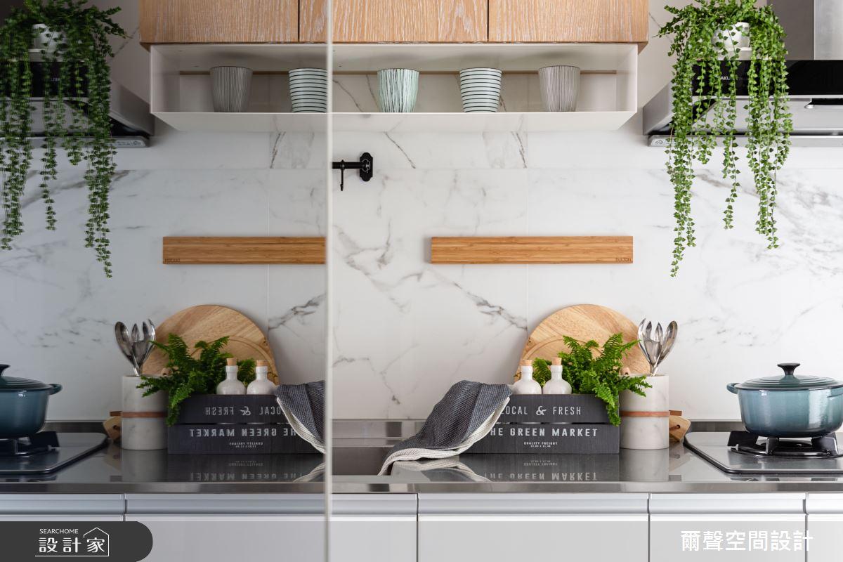 新成屋(5年以下)_北歐風廚房案例圖片_爾聲空間設計_爾聲_MARCHÉ DE JARDIN 花木。亭亭之5
