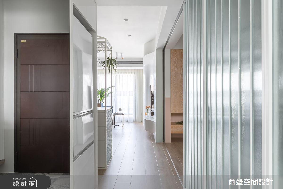 新成屋(5年以下)_北歐風走廊案例圖片_爾聲空間設計_爾聲_MARCHÉ DE JARDIN 花木。亭亭之3