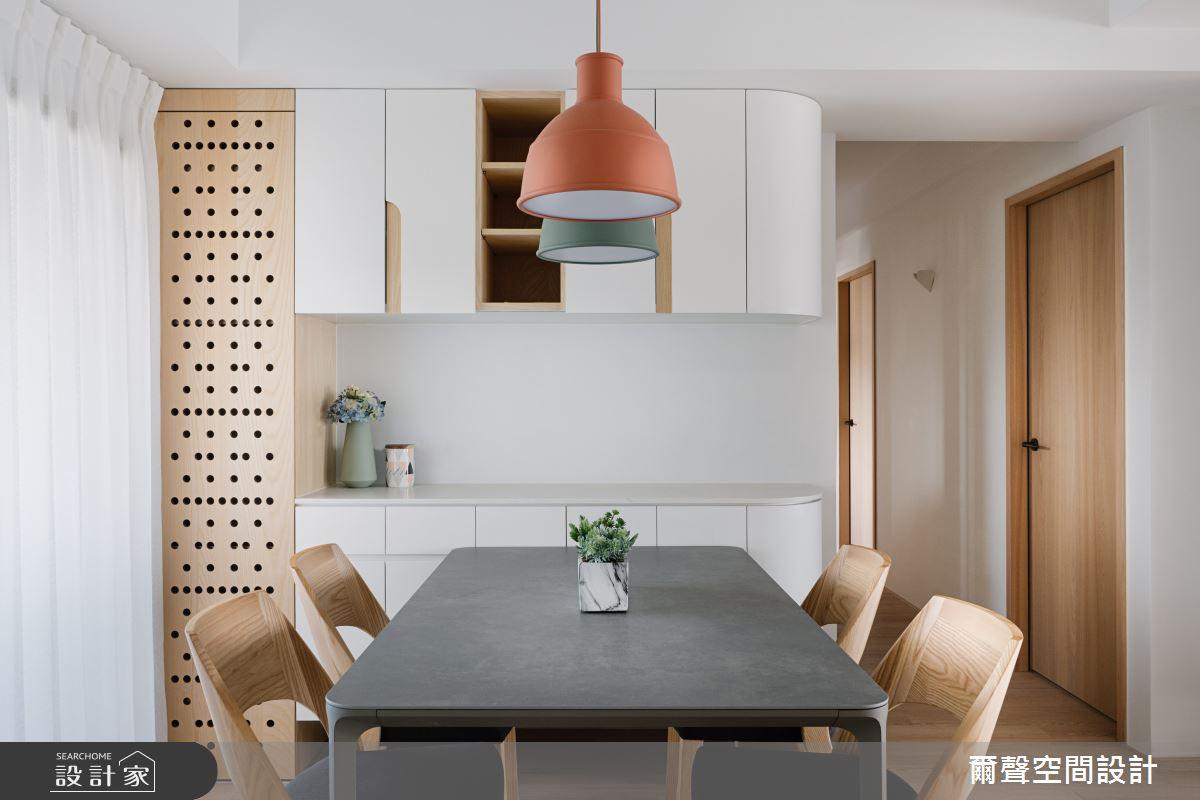 35坪老屋(16~30年)_北歐風餐廳案例圖片_爾聲空間設計_爾聲_家的進行曲之12