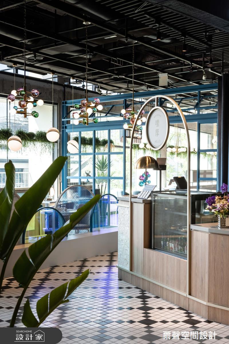 80坪新成屋(5年以下)_混搭風商業空間案例圖片_爾聲空間設計_爾聲_溫叨誠品松菸館之4