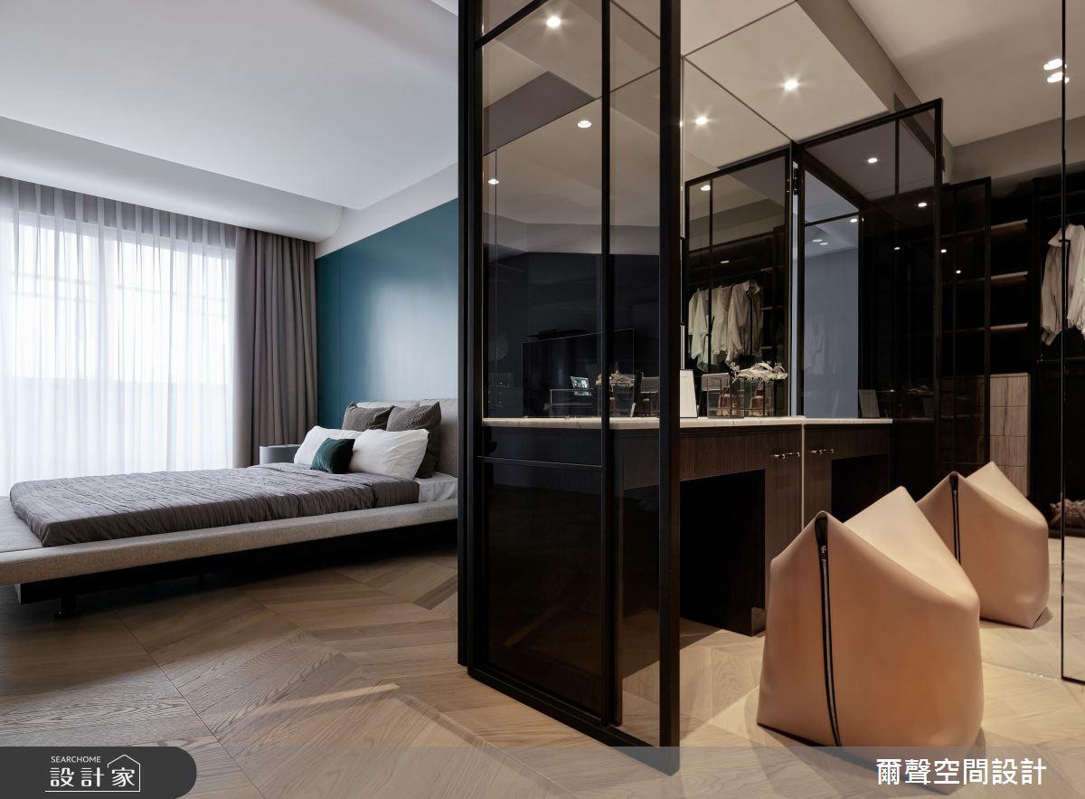 54坪新成屋(5年以下)_混搭風臥室案例圖片_爾聲空間設計_爾聲_House of Chiaroscuro 黑白切之19